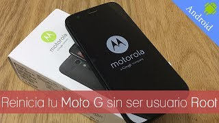 getlinkyoutube.com-Como reiniciar tu Motorola Moto G sin necesidad de Root | #Android