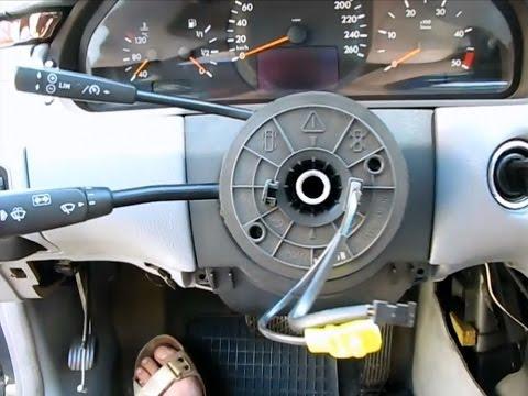 Ремонт шлейфа руля Mercedes w210 рестайл
