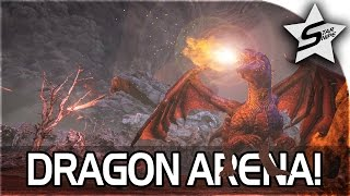 getlinkyoutube.com-ARK: Survival Evolved DRAGON ARENA GAMEPLAY! (HARDEST BOSS YET?!)