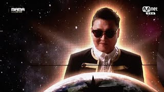 getlinkyoutube.com-PSY - '나팔바지(NAPAL BAJI)' + 'DADDY' + 'GANGNAM STYLE(강남스타일)' in 2015 MAMA