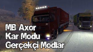 getlinkyoutube.com-Euro Truck Simulator 2 Karlı Kış Modu + Gerçekçi Modlar