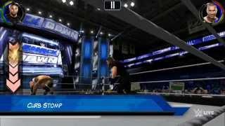 getlinkyoutube.com-WWE 2K Mobile all finishers