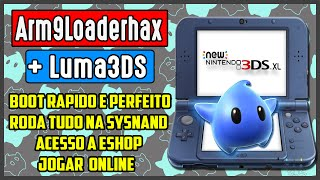 getlinkyoutube.com-[3DS] Arm9LoaderHax + Luma3DS ver. 5.4 (CFW nativa na sysNAND!!)(2DS/3DS/New3DS)