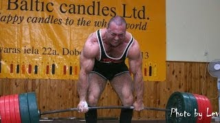 getlinkyoutube.com-Heaviest Deadlifts in Human History