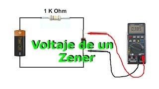 getlinkyoutube.com-Cómo Medir el Voltaje de un Diodo Zener