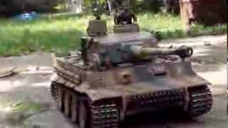 getlinkyoutube.com-Henglong Tiger 1 with Clark TK22 and Benedini