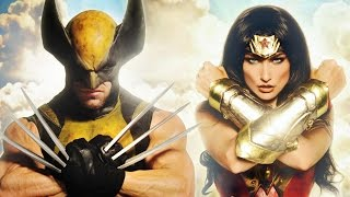 getlinkyoutube.com-WONDER WOMAN vs WOLVERINE - Super Power Beat Down (Episode 20)
