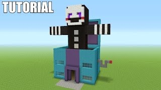 "getlinkyoutube.com-Minecraft Tutorial: How To Make A Marionette / Puppet ""Five Night's At Freddy's""!! (Survival House)"