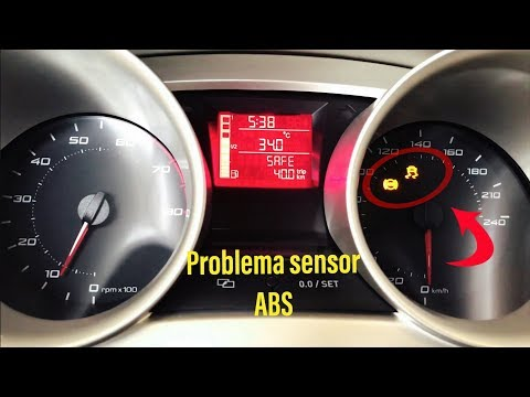 Sensor abs problema seat ibiza, jetta, Audi, familia vw y mas. Testigos abs y traccion