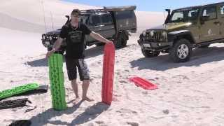 getlinkyoutube.com-Maxtrax vs Treds 4WD recovery boards