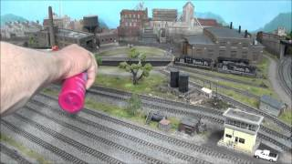 getlinkyoutube.com-How to Remove and Replace N Scale Kato Unitrack