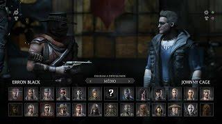getlinkyoutube.com-Mortal Kombat X: Erron Black vs Johnny Cage PT/BR (DUBLADO) PS4