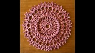 getlinkyoutube.com-99 Little Doilies (to Crochet) by Patricia Kristoffersen