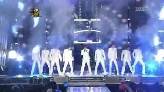 getlinkyoutube.com-Super Junior Sorry Sorry & It's You ft. SNSD