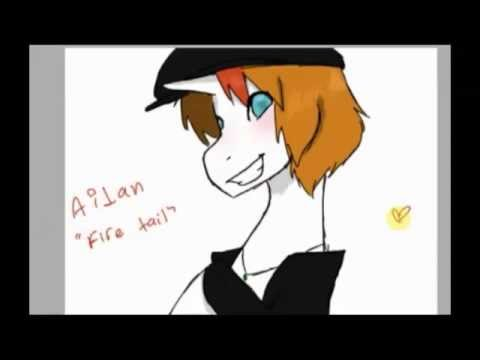 Aidan Fire Tail Speedpaint