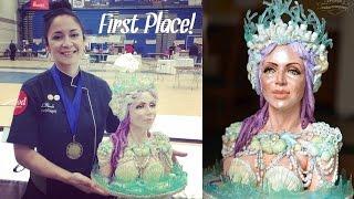 getlinkyoutube.com-Mermaid Queen Time Lapse