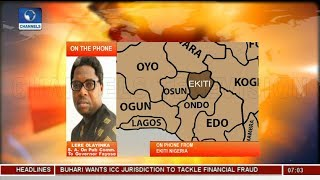 ''Why Put Gov Fayose In Harm's Way'' Olayinka Alleges Deliberate Withdrawal Of Police Aides