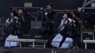 getlinkyoutube.com-Babymetal live @ Download festival, Paris 2016