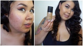 "getlinkyoutube.com-Review / First Impression On Too Faced: ""Born This Way"" Foundation!"