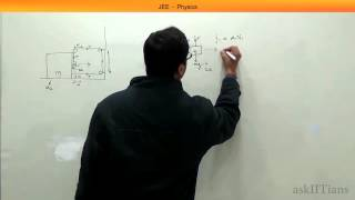 IIT JEE Physics: Mechanics pulley system