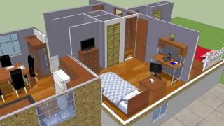 getlinkyoutube.com-Dans House In Sketchup