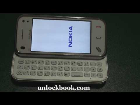 How to enter unlock code to Nokia N97 mini