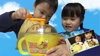 getlinkyoutube.com-アンパンマン New!もこもこパンケーキ屋さん クッキングトイ おもちゃ Anpanman toy