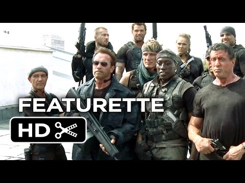The Expendables 3 Featurette - Icons Upon Icons (2014) - Sylvester Stallone Action Sequel HD