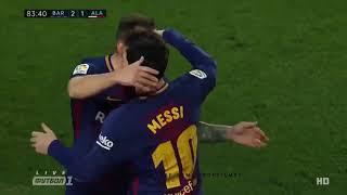 Lionel Messi Goal   Barcelona vs Deportivo Alaves 2 1 28 1 2018 HD