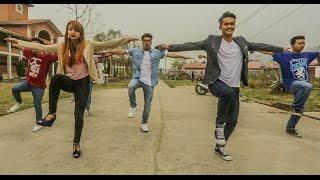 getlinkyoutube.com-Cartoonz Crew | Funtastic (Pani paryo) Choreography | Almoda Rana Uprety