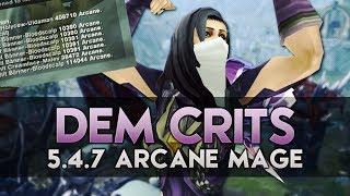getlinkyoutube.com-DEM CRITS! 400k! (5.4 Arcane Mage PvP)