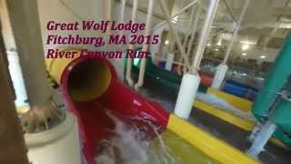 getlinkyoutube.com-Great Wolf Lodge Indoor Waterpark - River Canyon Run and Wolf Tail - GoPro Hero 4