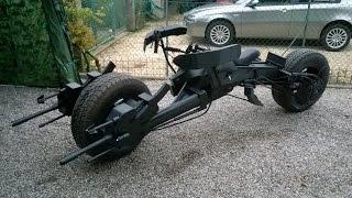 DANY BAO - Hot Toys real Bat Pod Batman dark knight electric motorcycle