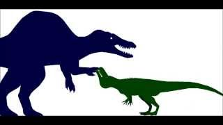 getlinkyoutube.com-PDW   Spinosaurus Rampage 100 sub special part 1
