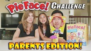 getlinkyoutube.com-PIE FACE CHALLENGE Parents Edition!!! w/ Special Ingredients!