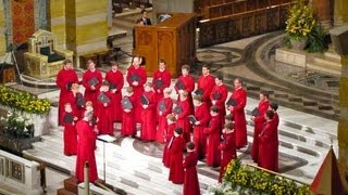 getlinkyoutube.com-AGNUS DEI - Sacred Choral Music - The Choir of New College, Oxford. E.HIGGINBOTTOM [Full Album]