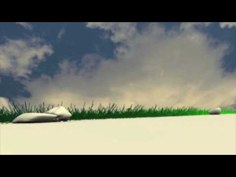 Golf animation blender