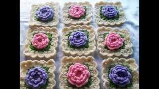 getlinkyoutube.com-Cuadraditos en crochet.Granny