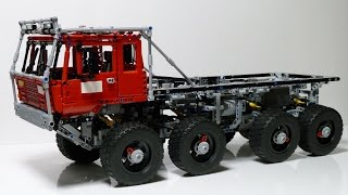 getlinkyoutube.com-LEGO Technic Tatra 813 Trial Truck
