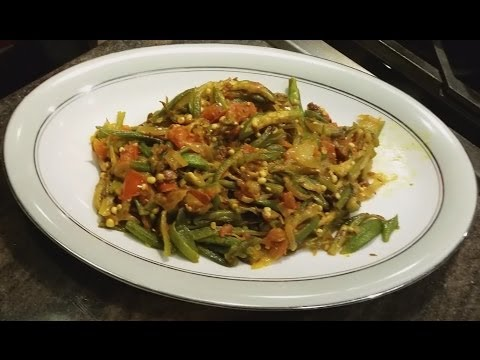 How to cook Bhindi Sabzi Okra Sabzi in Easy Steps