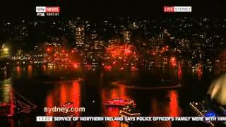 Sydney australia Fireworks 2013