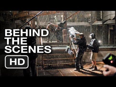 The Dark Knight Rises - Behind the Scenes Pictures - Movie HD