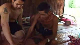getlinkyoutube.com-ลองพระปิดตาใส่ปากปลาอาจารย์ทองแท่งเเละพ่อตางาย