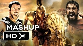 Clash of the 300 Gladiators of Troy - Movie Mashup HD width=