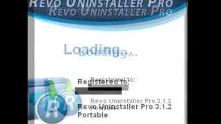 getlinkyoutube.com-Revo Uninstaller PRO 3.1.2 Portable ( Con Serial )