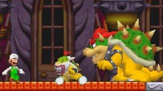 getlinkyoutube.com-New Super Mario Bros. DS Walkthrough - World 8 + Ending (All Star Coins)