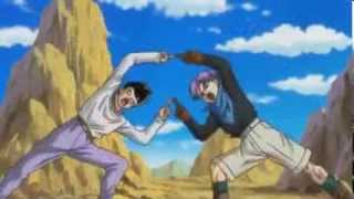 getlinkyoutube.com-FUSIÓN GOTENKS ADULTO   Goten y Trunks - Dragon Ball Héroes