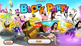 getlinkyoutube.com-Nickelodeon Block Party (Party Game Playthrough, Gameplay)