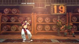 getlinkyoutube.com-【HD】SUPER STREET FIGHTER IV ボーナスステージ2onジュリ+Hな挑発