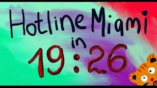 Hotline Miami speedrun - 19:26 (World Record) NG Any%